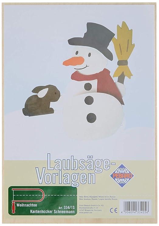 Pebaro 334 2s Laubsägevorlage Kantenhocker Engel Amazon De Spielzeug