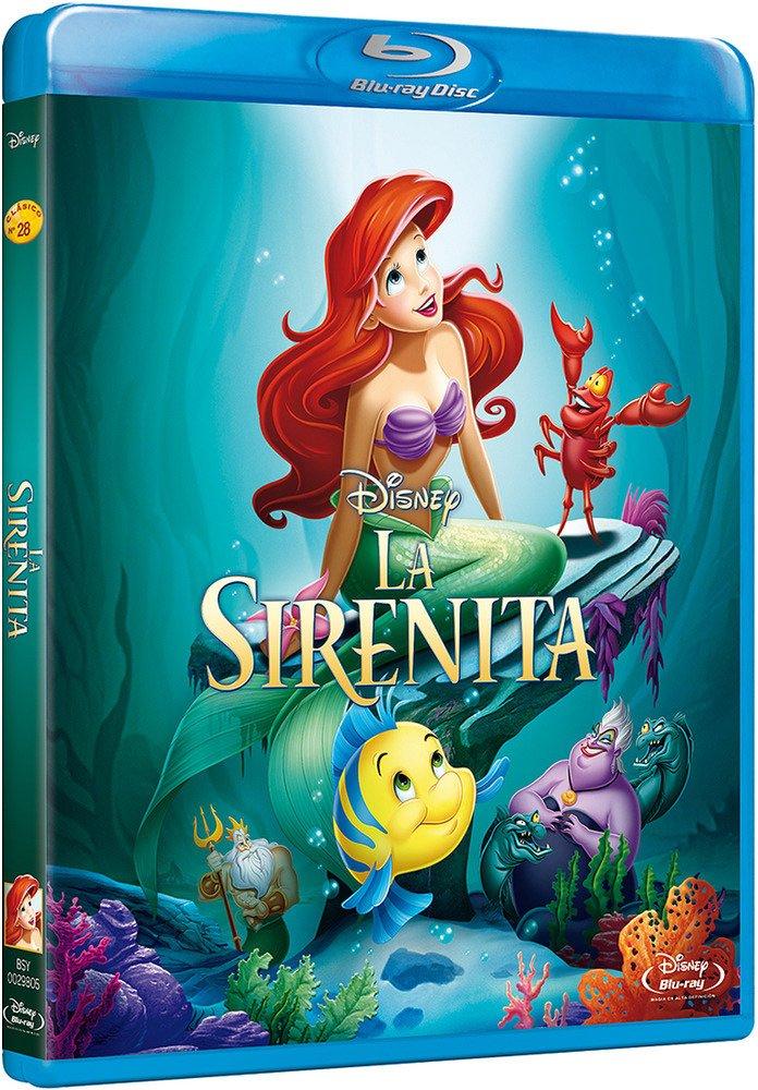 La Sirenita (2013) [Blu-ray]: Amazon.es: Personajes animados ...