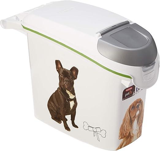 Curver. Contenedor para pienso 6Kg con decoración de perros.: Amazon.es: Hogar