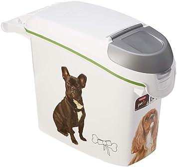 Contenedor para pienso 6Kg con decoración de perros.: Amazon.es: Hogar