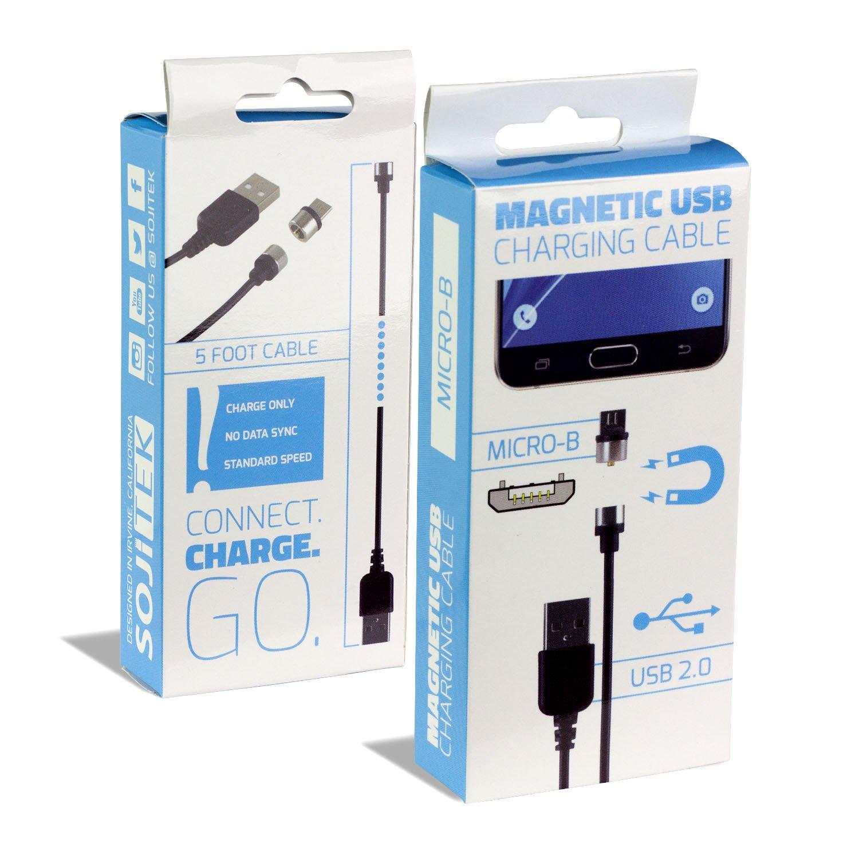 Amazon.com: SOJITEK Genuine Detachable Magnetic Charging Charger (No ...