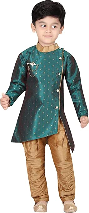 Oner Boys Dresses_ Kurta Pajama Latest Model Set Boys' Shirts at amazon