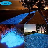 200 Piezas Piedras Luminosas Azul, 200 Piezas Piedras