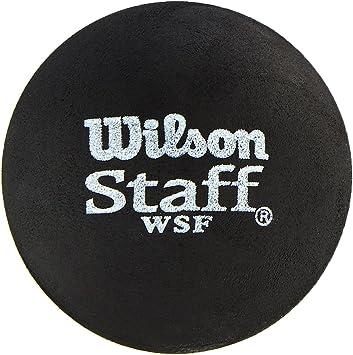 Wilson Staff Pelota de Squash 2 Unidades, Unisex, Rojo Negro ...