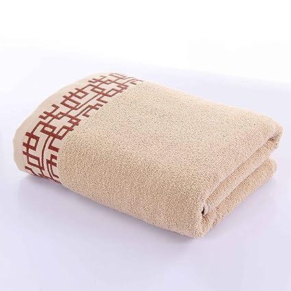 Toalla de baño suave- Toallas de algodón Calafatear pareja masculina y femenina Hotel para aumentar