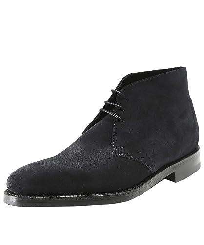 Loake Men's Suede Pimlico Chukka Boots Black: Amazon.co.uk