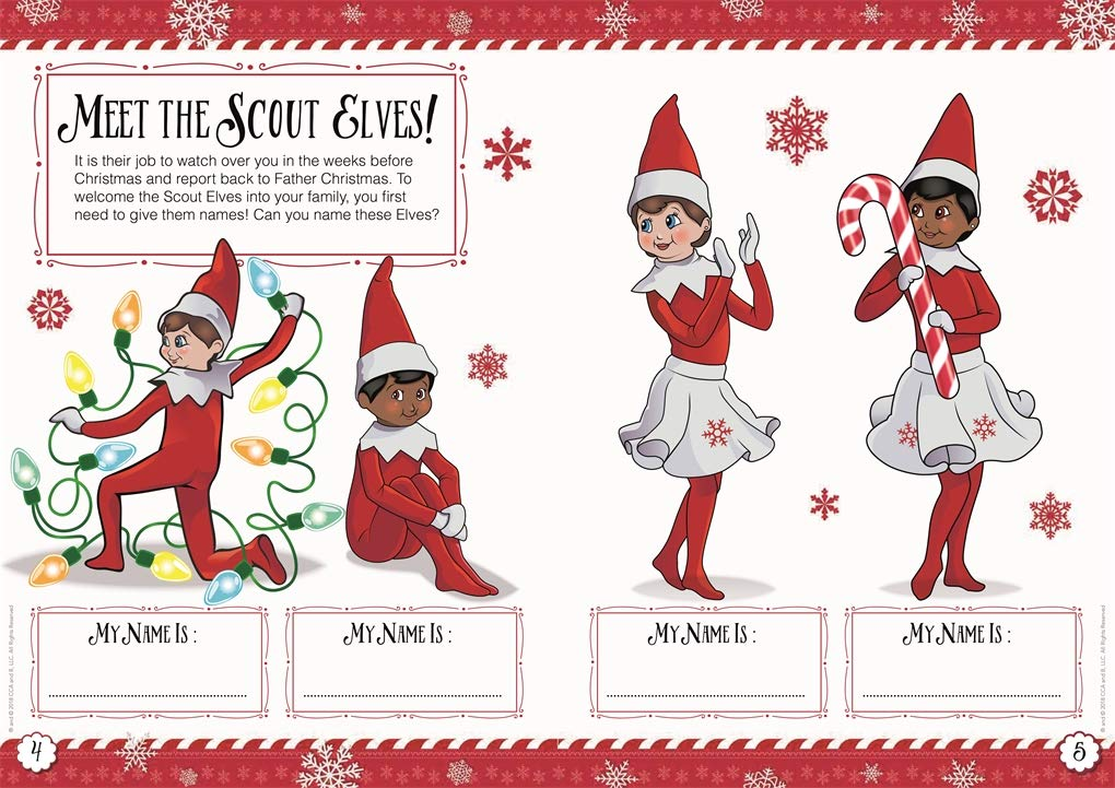 - The Elf On The Shelf Bumper Activity Book: The Elf On The Shelf:  9781408359075: Amazon.com: Books