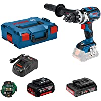 Bosch Professional 18V System Accuschroefklopboormachine GSB 18V-85 C (Max. Draaimoment: 110 Nm, Incl. Connectivity…