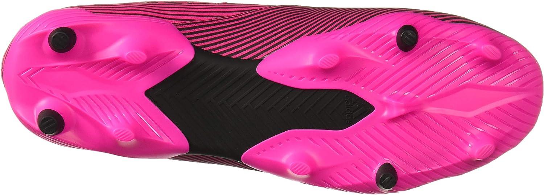 adidas Herren Nemeziz 19.2 Firm Ground Cleats Shock Pink/Black/Shock Pink