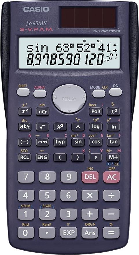 d09cc56fb29e Casio FX-85MS - Calculadora científica