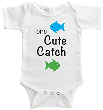 1aa778db8 Amazon.com  Starlight Baby One Cute Catch Fishing Bodysuit  Clothing
