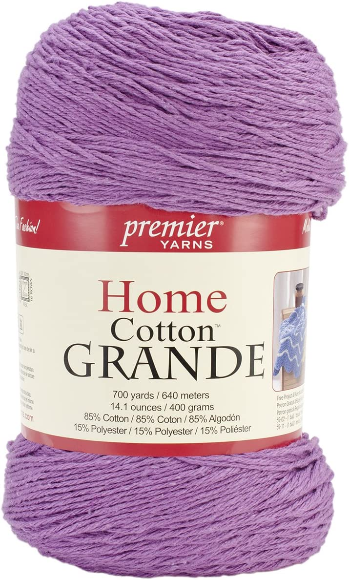 Premier Yarns Solid Home Cotton Grande Yarn, Passionfruit