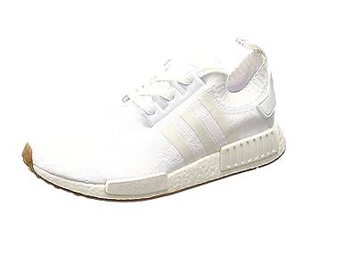 adidas Originals NMD_R1 PK Primeknit, footwear white-footwear white-gum, 7