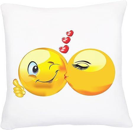 Anniversario Di Matrimonio Emoticon.Rangebow Love Story Emoji Cuscino Emoticon Immagini Ad Alta