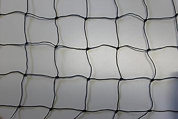 Geflügelzaun Geflügelnetz Weidezaun  15 m x 1,80 m schwarz  Maschenweite 5 cm