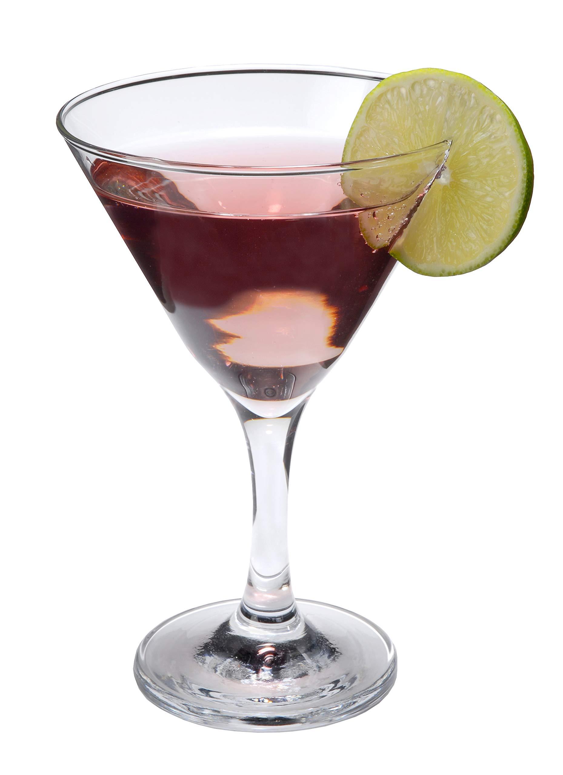 Epure Cremona Collection Martini Glass Set (Martini (9 oz) - 12 pc.) by epure