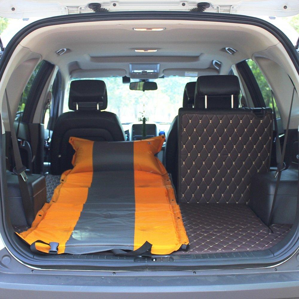 YJH+ アウトドアシングルダブルSUV自動インフレータブルマットレスカーベッドインフレータブルベッドカー車のベッドショックベッドインフレータブルクッション 美しく、寛大な ( 色 : イエロー いえろ゜ , サイズ さいず : A ) B072WPRS5B A|イエロー いえろ゜ イエロー いえろ゜ A