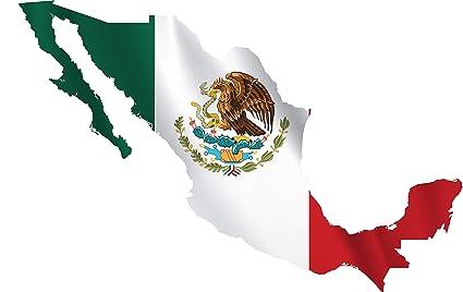 Amazoncom Mexico Republica Mexicana Map Mapa Full Color