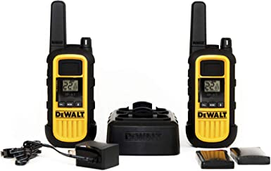 DEWALT DXFRS800 2W Walkie Talkies Heavy Duty Business Two-Way Radios Pair
