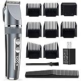Forusi Hair Clippers for Men - Cordless Ceramic Blade Mens Hair Trimmer Beard Trimmer Hair Cutting & Grooming Kit…
