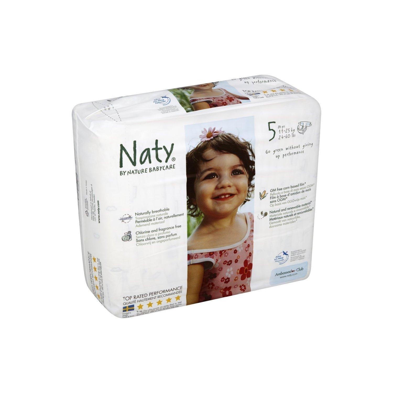 Nature Babycare Windeln - Größe 5 Junior - 3 Packungen (84 Windeln)
