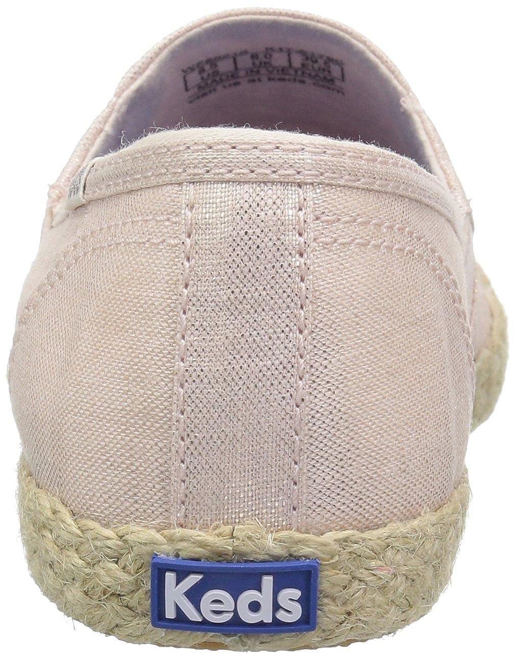 Keds Womens Chillax A-LINE Metallic Linen Sneaker