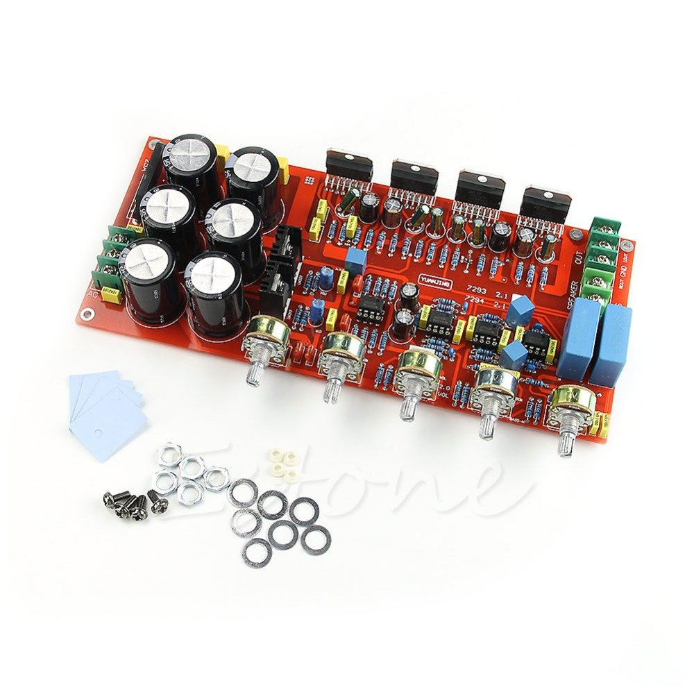 Generic TDA7294 Subwoofer Low Pass Filter 2.1 Amplifier: Amazon.in ...