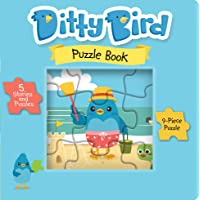 Our Best 5-in-1 Jigsaw Puzzle Book for Kids 3-5 Years. Includes 5 Puzzles. Learning Educational Toys for Boys/Girls Preschool Children, Toddler Ages, 3, 4, 5. from 3 Years Old boy Girl Gifts.