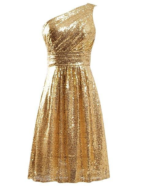 Vestidos para graduacion color dorado