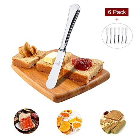 Amazon.com: OTW PAVILION - Cuchillo para mantequilla (acero ...