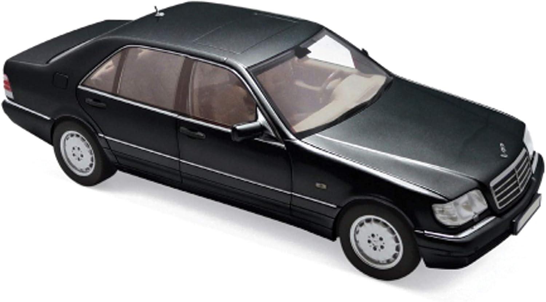 amazon com norev 1997 mercedes benz s320 metallic black 1 18 diecast model car 183721 automotive norev 1997 mercedes benz s320 metallic black 1 18 diecast model car 183721