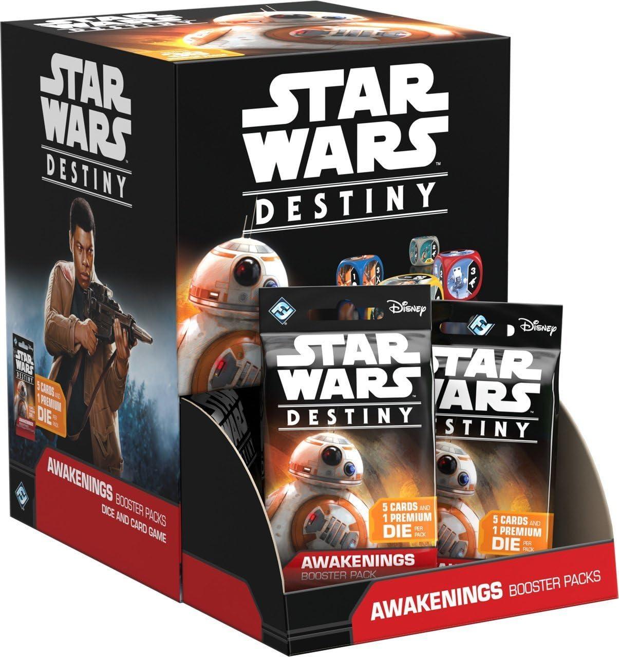Star Wars Destiny TCG: Awakenings Display Box (36 Booster Packs) Gravity Feed