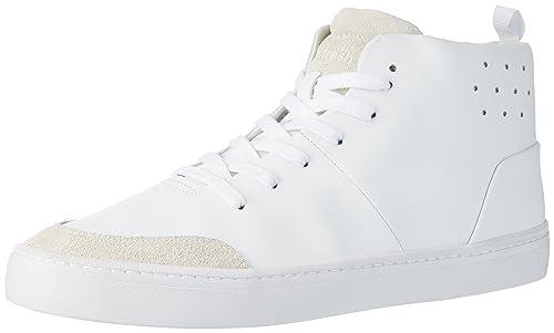 Boxfresh a Uomo it LeaSde Sh Amazon Wht Sneaker Lezon Collo Alto 17r1TOR4x