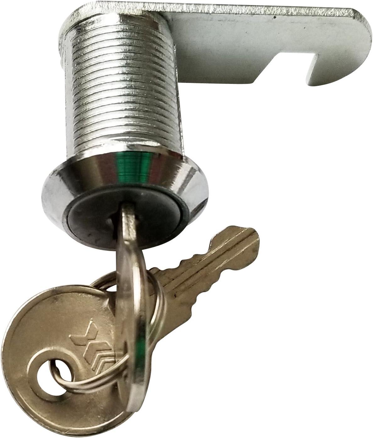 Admiral Flat Key Cam Lock (7/8 Inch, Pack of 1)