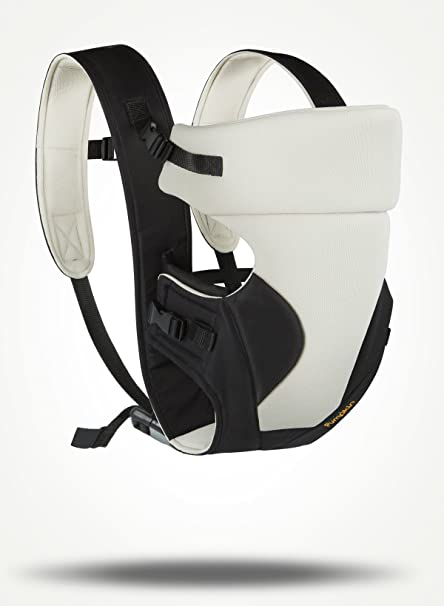 063808e4068 Buy Little Pumpkin - Kiddie Kingdom Baby Carrier (Cream Black) Online at  Low Prices in India - Amazon.in