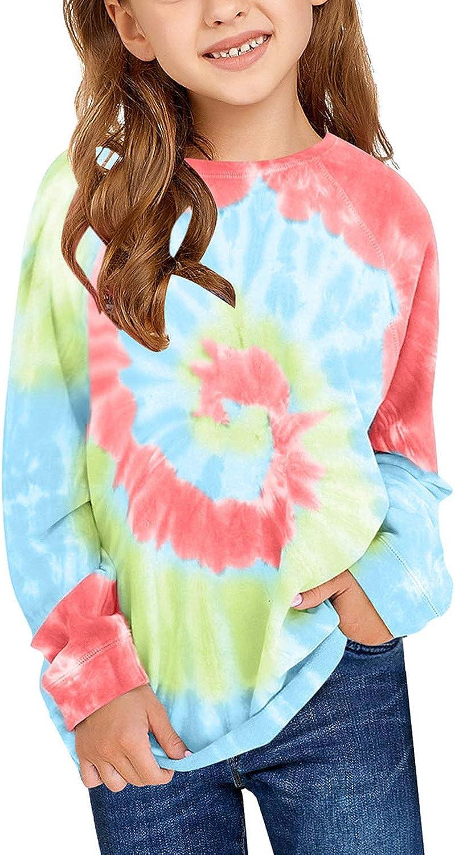 Amazon.com: GRAPENT Girls Tie Dye Print Active Hoodie Long Sleeve  Sweatshirts Pullover Tops 4-13 Years: Clothing