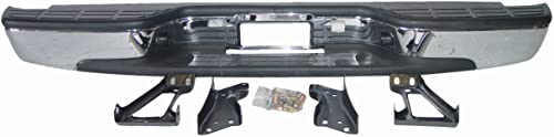 Aftermarket Replacement Chevy Silverado 99-07 Bumper Rear Back Chrome Fleetside