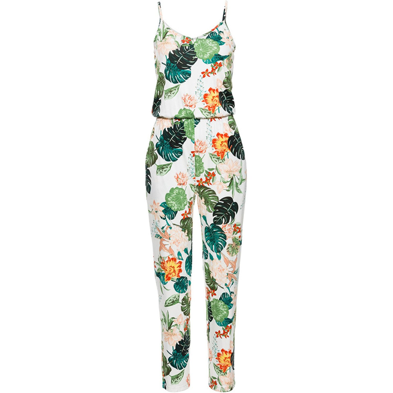 nboba jumpsuits Female Beach Party Full Length Long Women's Rompers W5131WT L