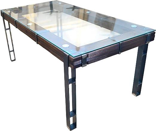 chyrka® comedor mesa comedor Lemberg Loft Vintage Bar diseño ...