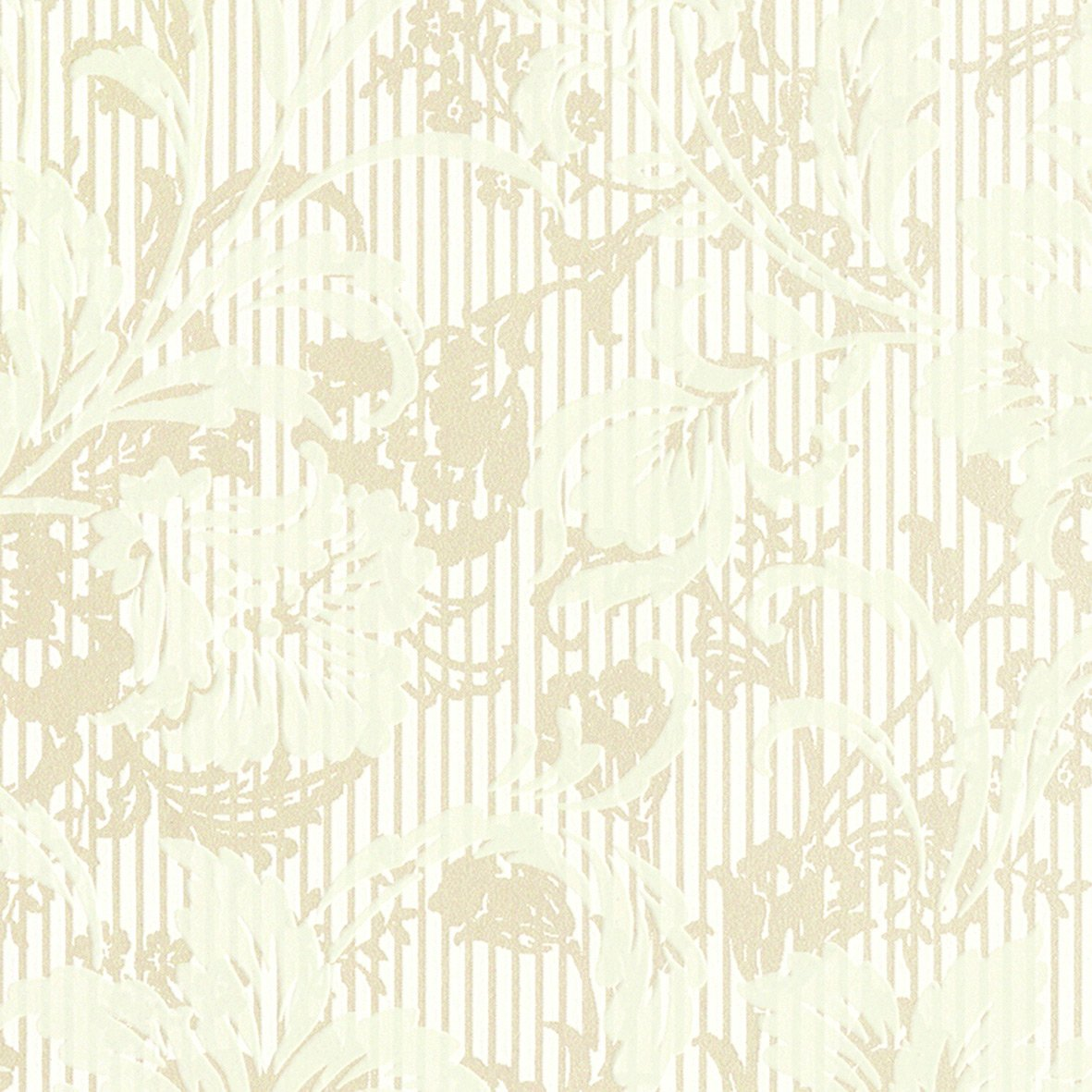 リリカラ 壁紙45m フェミニン 花柄 グリーン 水廻り Lv 6239