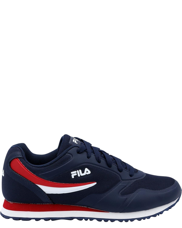FILA Navy Blue Mesh Regular Sneakers