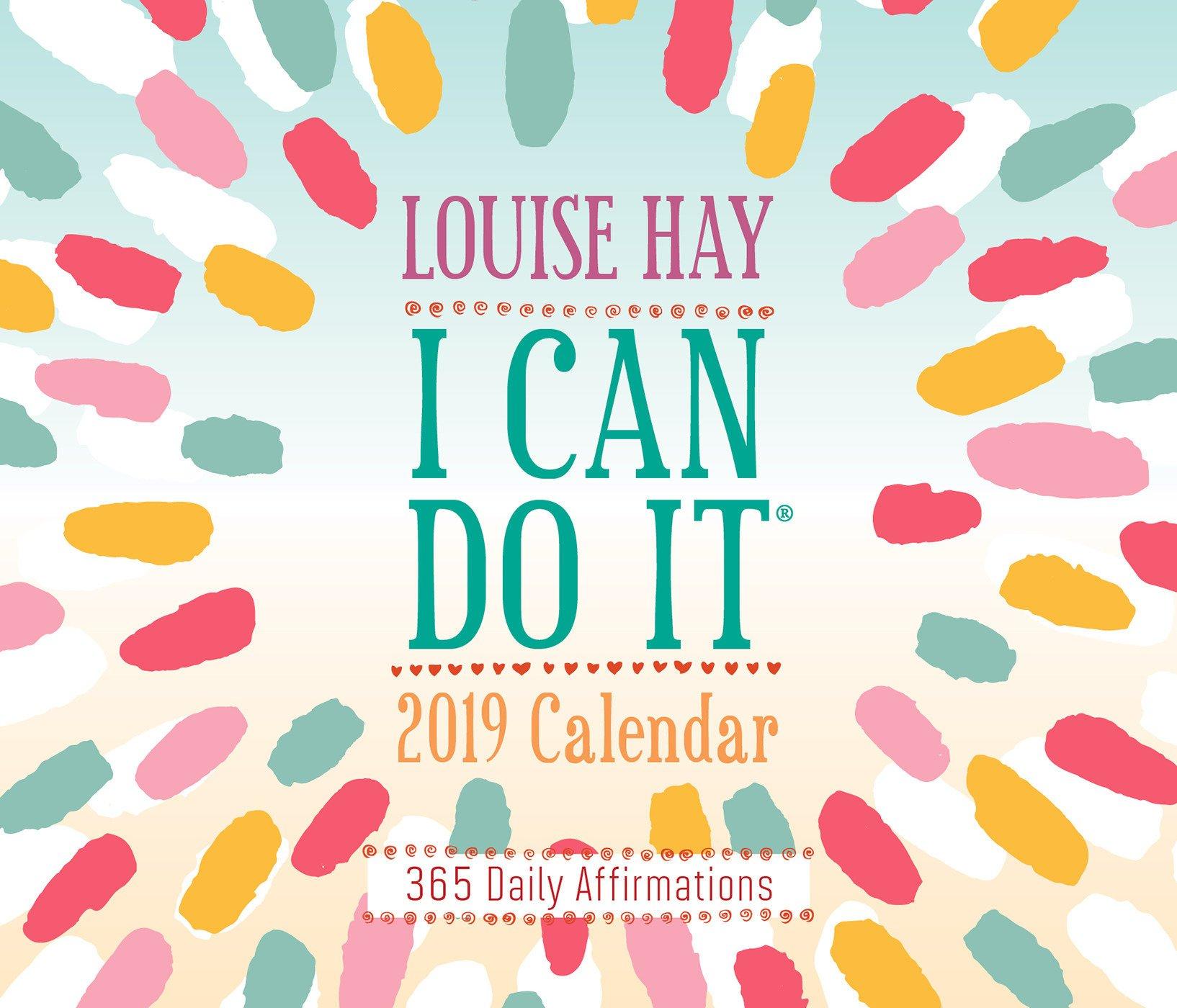 I Can Do It 2019 Calendar: 365 Daily Affirmations pdf