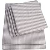 Sweet Home Collection, Classic Stripe Gray, Full