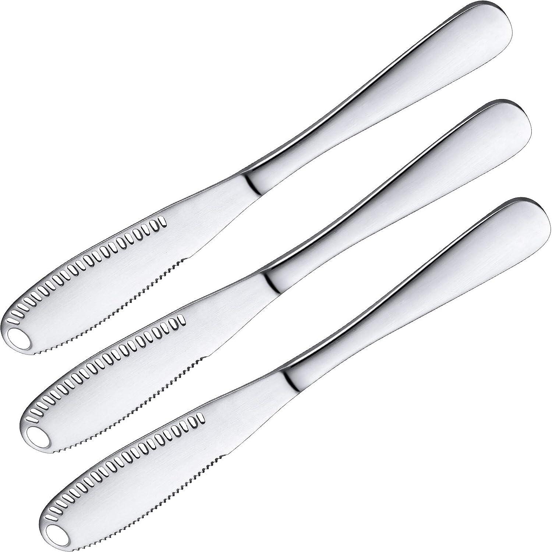 Stainless Steel Better Butter Spreader