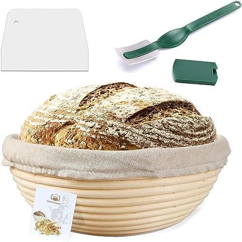 Wertioo 9 Inch Proofing Basket