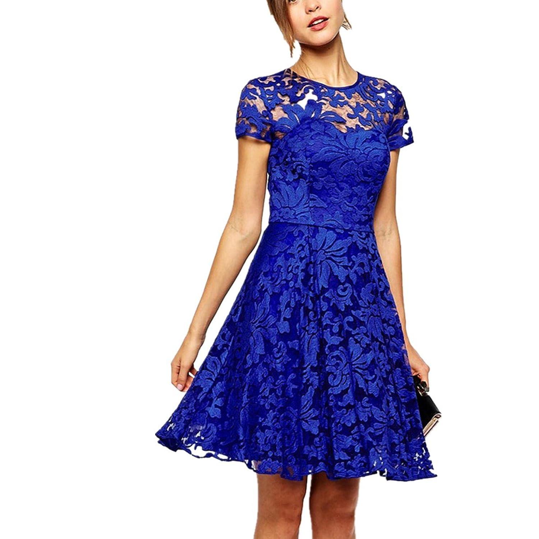 Fanessy kleider damen elegant Casual Kleider T-shirts Rock ...