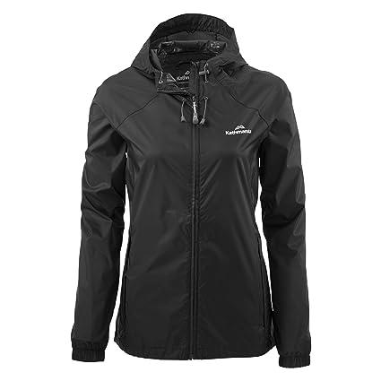 9647c2150 Kathmandu Pocket-it Women's Rain Jacket: Amazon.co.uk: Clothing