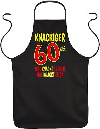 Geschenk Zum 60 Geburtstag Schurze Knackiger 60iger Zum 60