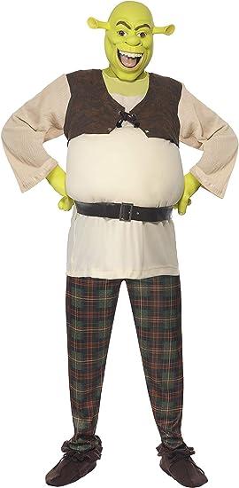 Smiffys - Disfraz de shrek para hombre, talla UK 42-44 (38357L ...