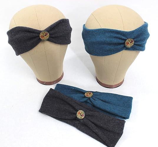 Werksverkauf Release-Info zu 2019 authentisch Stirnband mit Knopf (Merinowolle): Amazon.de: Handmade